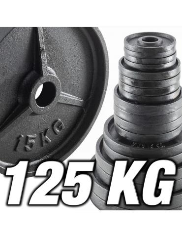 Pack de poids olympiques 125 kg