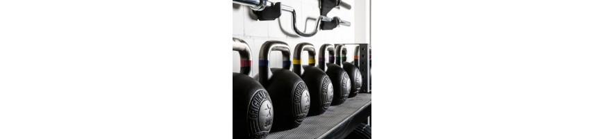 Kettlebells russes pour crosstraining en home gym