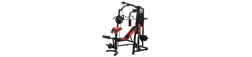 Appareil home-gym multifonction
