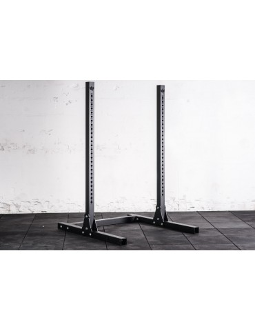 Chandelles repose-barres pour home-gym