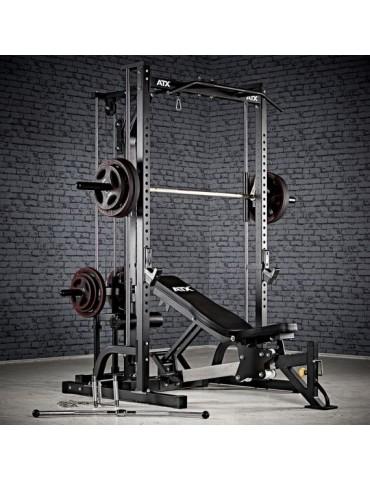 Rack à squat avec poulie...