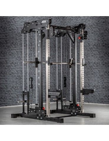 Smith machine complète polyvalente ATX