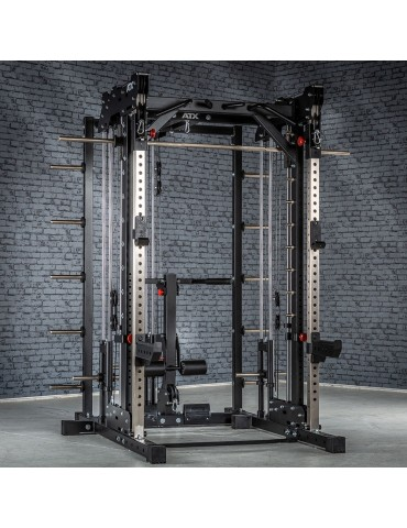Smith machine professionnelle polyvalente