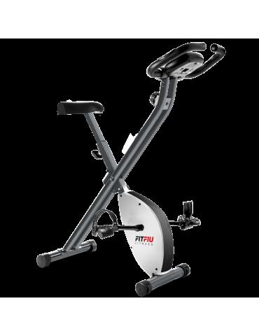 Vélo d'entraînement en home-gym