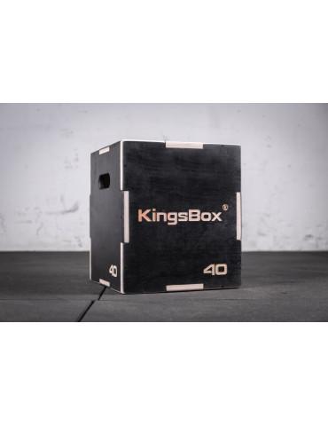 Plyo-box en bois pour développement musculaire
