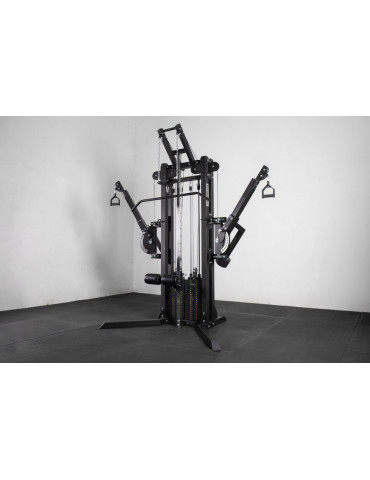 Machine Mighty Lat Pull Down Crossover kingsbox