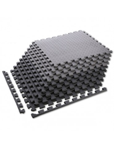 Lot de 9 dalles de sol en mousse en format puzzle