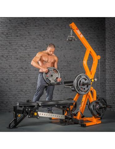 Station pro de musculation...