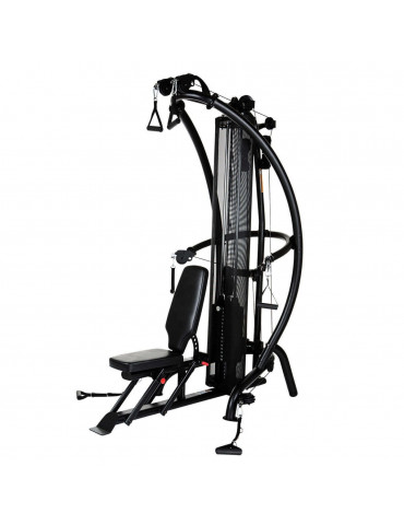 station de musculation de précision pour mouvements de sport divers à domicile