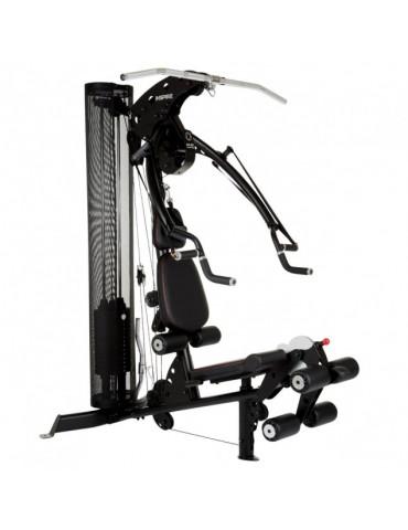 Station multi-fonctions avec set d'accessoires : Training complet de sport en homegym