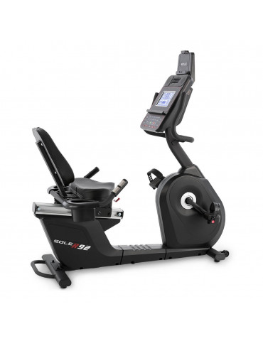 Vélo d'entraînement de cardio inclinable tout équipé