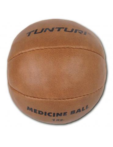 Médecine ball en cuir...