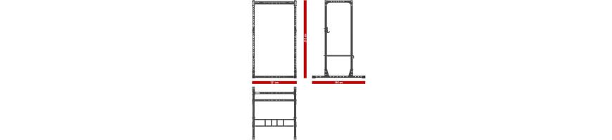 Cage squat 215 cm
