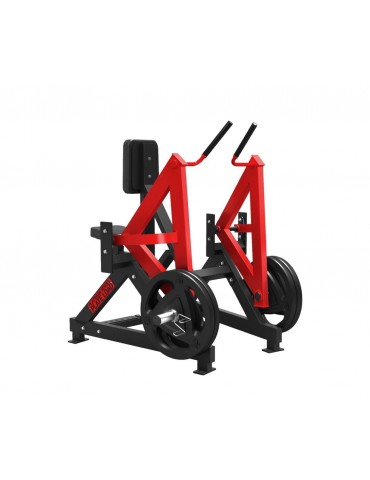 Machine tirage dos rowing machine professionnelle rouge