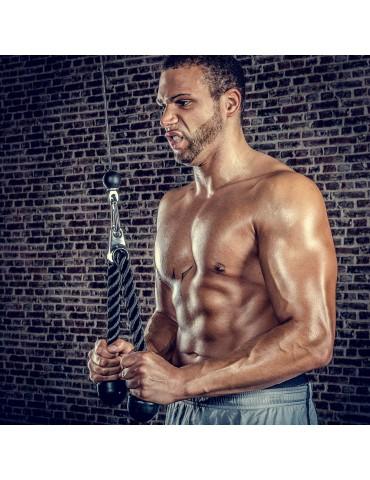 Corde de tirage à triceps...