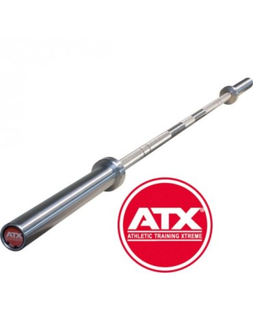Barre droite pour professionnels Logo ATX rouge