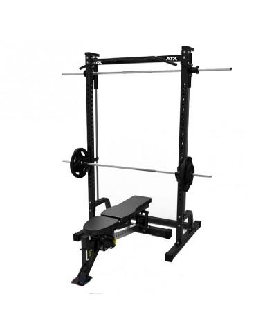 Pack matériel musculation Smith machine banc réglable