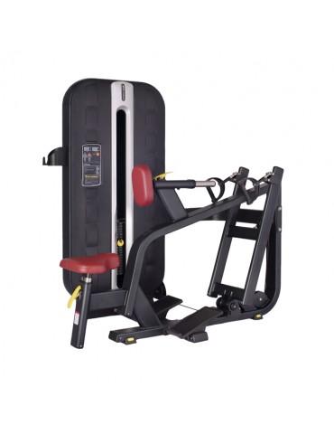 Row machine professionnelle à charge guidée