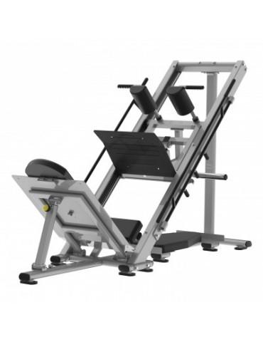 Presse à cuisses hack squat de musculation