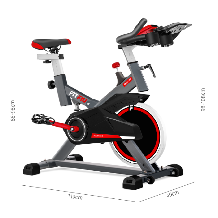 dimensions vélo spinning homegym