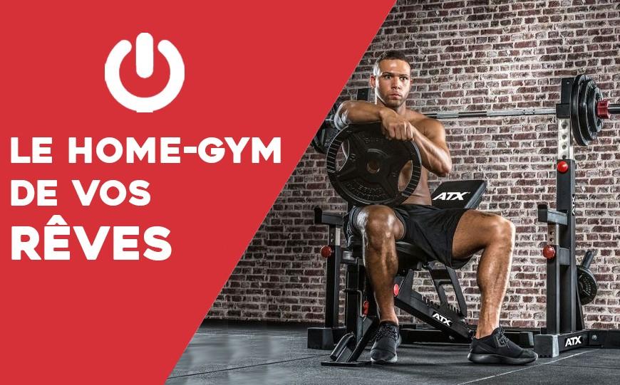 Musculation à domicile : le home-gym de vos rêves
