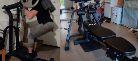 David : Youtubeur musculation vous invite dans son home-gym
